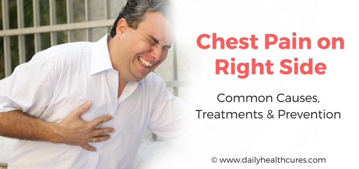 Right Side Chest Pain: Common Causes, Treatments and Prevention
