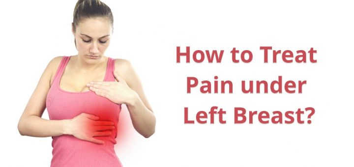 Pain under left breast