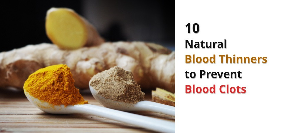 Natural Foods Blood Thinners